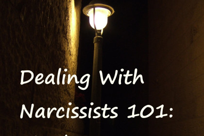 Dealing With Narcissists 101: The basics