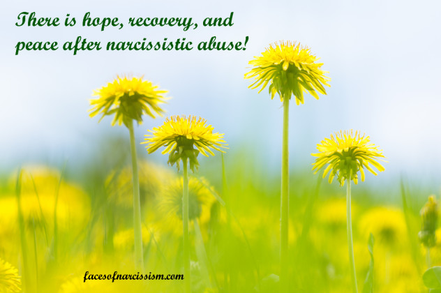 There is hope, recovery, and peace after narcissistic abuse!