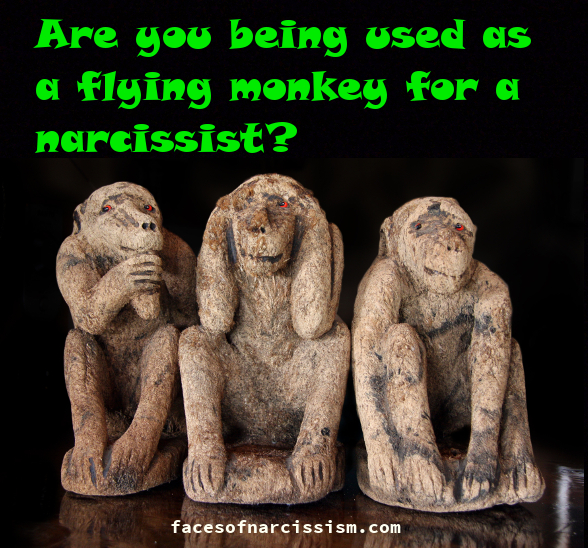 Are you being used as a flying monkey for a narcissist