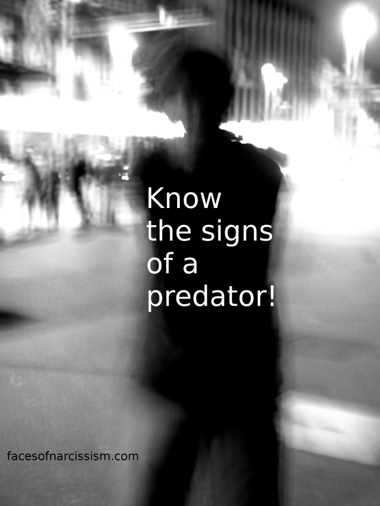 Know the signs of a predator!